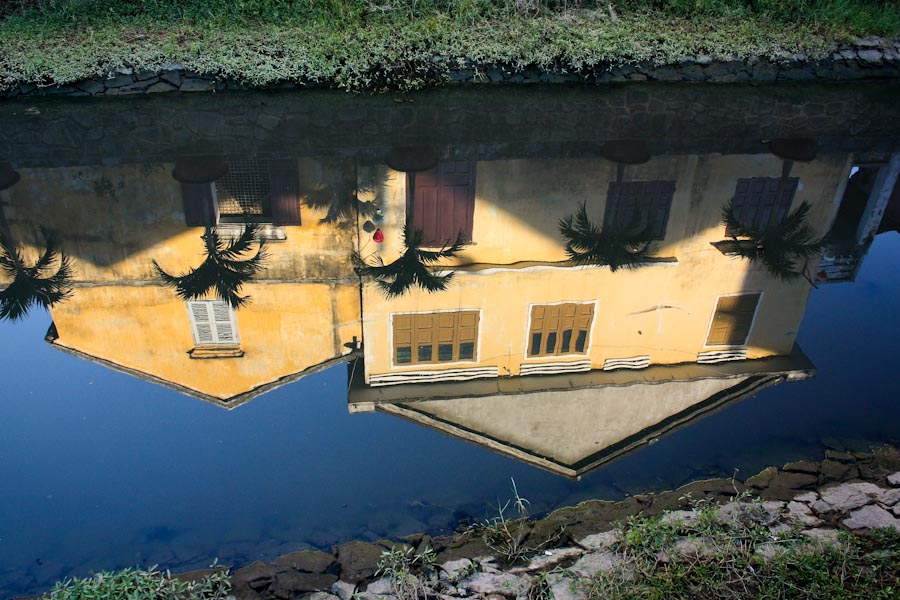 Reflection in the Bon River