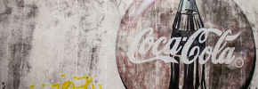Photo and Wallpaper: Weathered Coke Ad, Granada Nicaragua