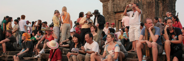 Avoid the crowds at sunset, Angkor Wat, Cambodia