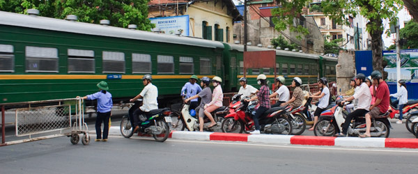 Hurry Up and Wait -- Stuck in Hanoi, Vietnam