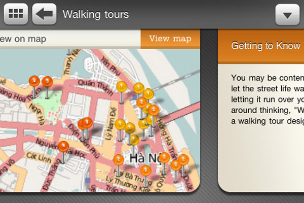 Testing Travelfish's New iPhone Travel Guide in Hanoi - Maps