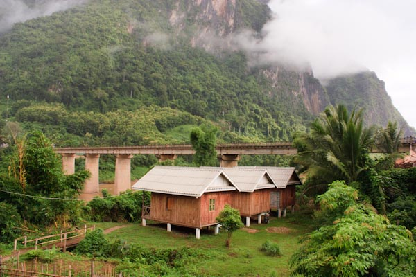 What Does a $4 Budget Bungalow Look Like in Laos?