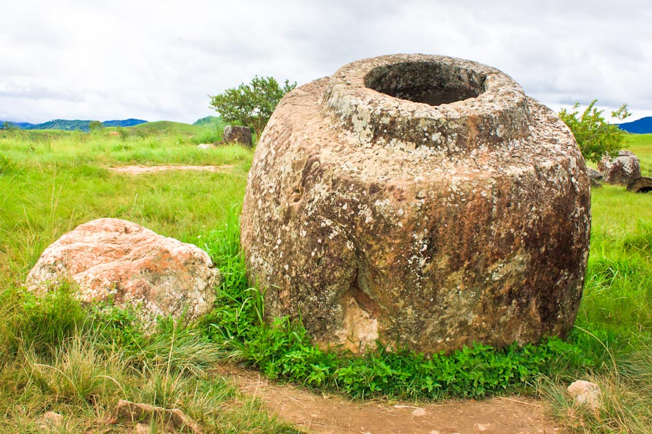 photos the mysterious plain of jars in laos