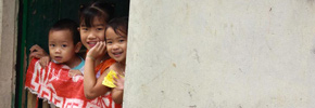 Travel Photo of the Week: Giddy Kids in Sapa, Vietnam