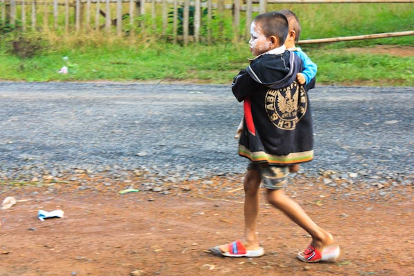 Riding the Southern Swing: On the Road to Tat Lo, Laos