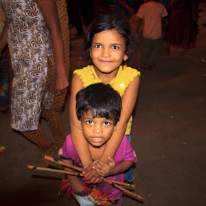 Drinking and Dancing at Bombay's Durga Puja Festival