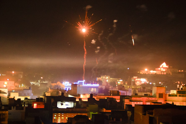 Dodging Fireworks at Diwali, India's Festival of Lights