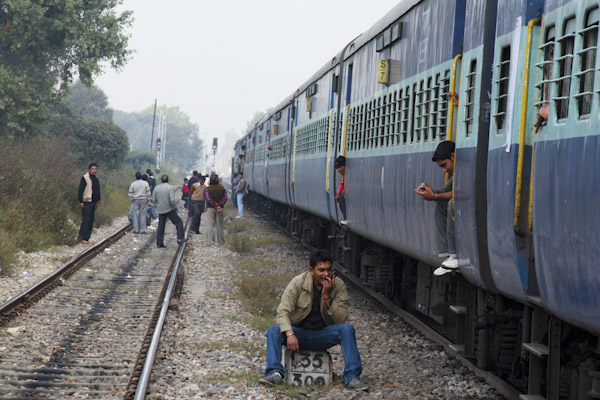 Holy Transvestites! An Indian Train Ride