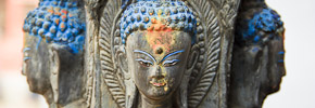 Photo of the Week: Ancient Buddha Statue in Kathmandu