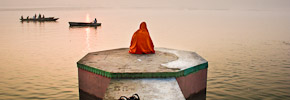 Travel Photos: The Ganges River at Sunrise