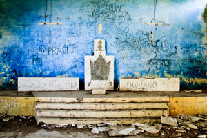 Photos from the Crumbling Beatles Ashram in Rishikesh, India