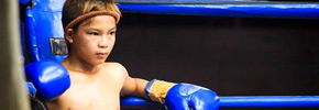 Photo of the Week: Young Muay Thai Boxer in Chiang Mai