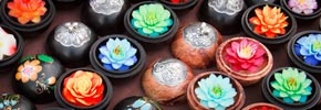Photo of the Week: Delicate Soap Flowers from a Thai Market