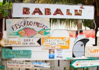 Finding Food and Drink in Utila, Honduras