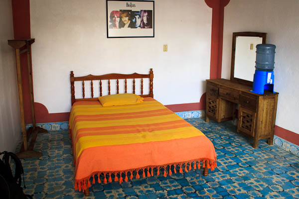 What does a $5 Room in San Cristobal, Mexico Look Like?